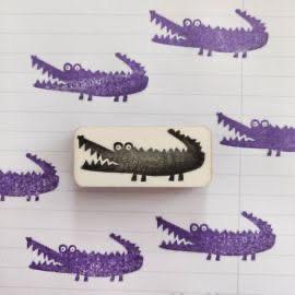 De paarse krokodil